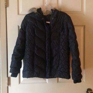 ❄️Jacket/ DKNY Jeans petite hooded jacket